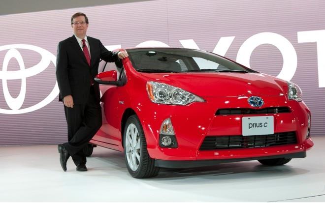 2012 Toyota Prius C With Jim Lentz 660x413