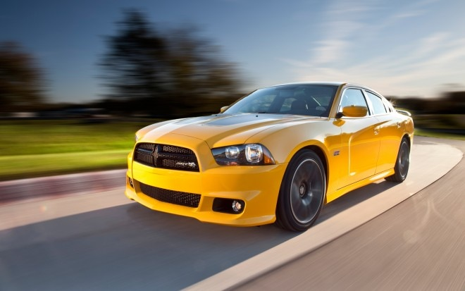 2012 Dodge Charger SRT8 Super Bee Front Left Side View1 660x413
