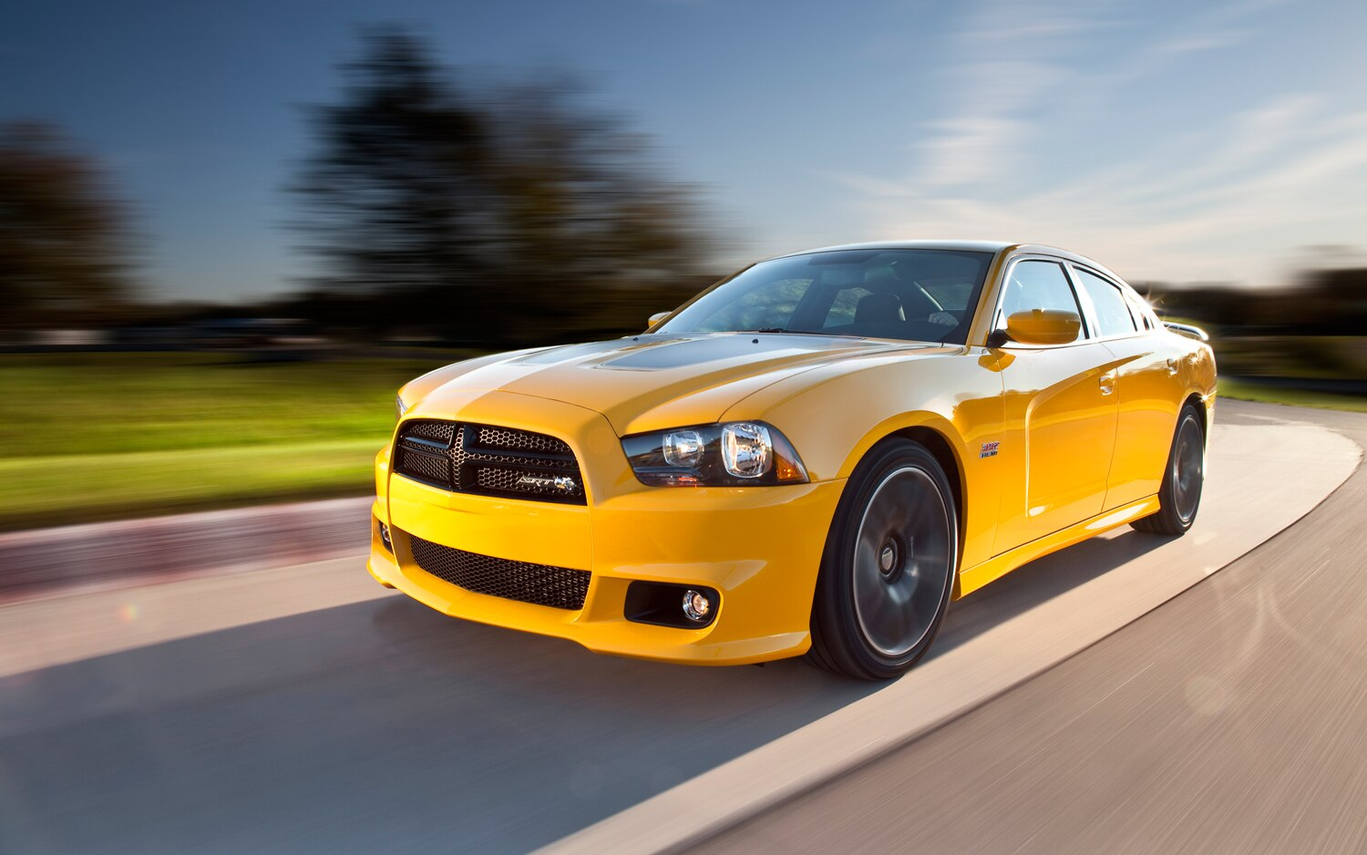 2012 Dodge Charger SRT8 Super Bee Front Left Side View1