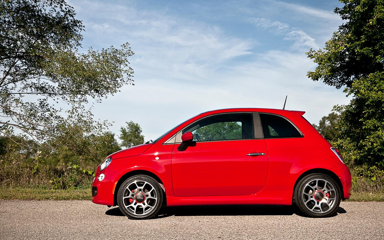 2012 Fiat 500 Sport Left Side View1