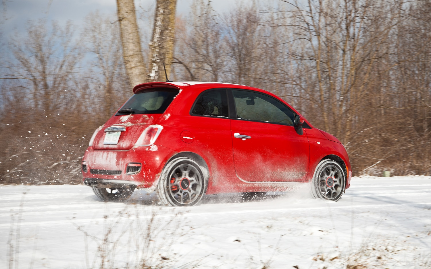 2012 Fiat 500 Sport Rear Right Side View1
