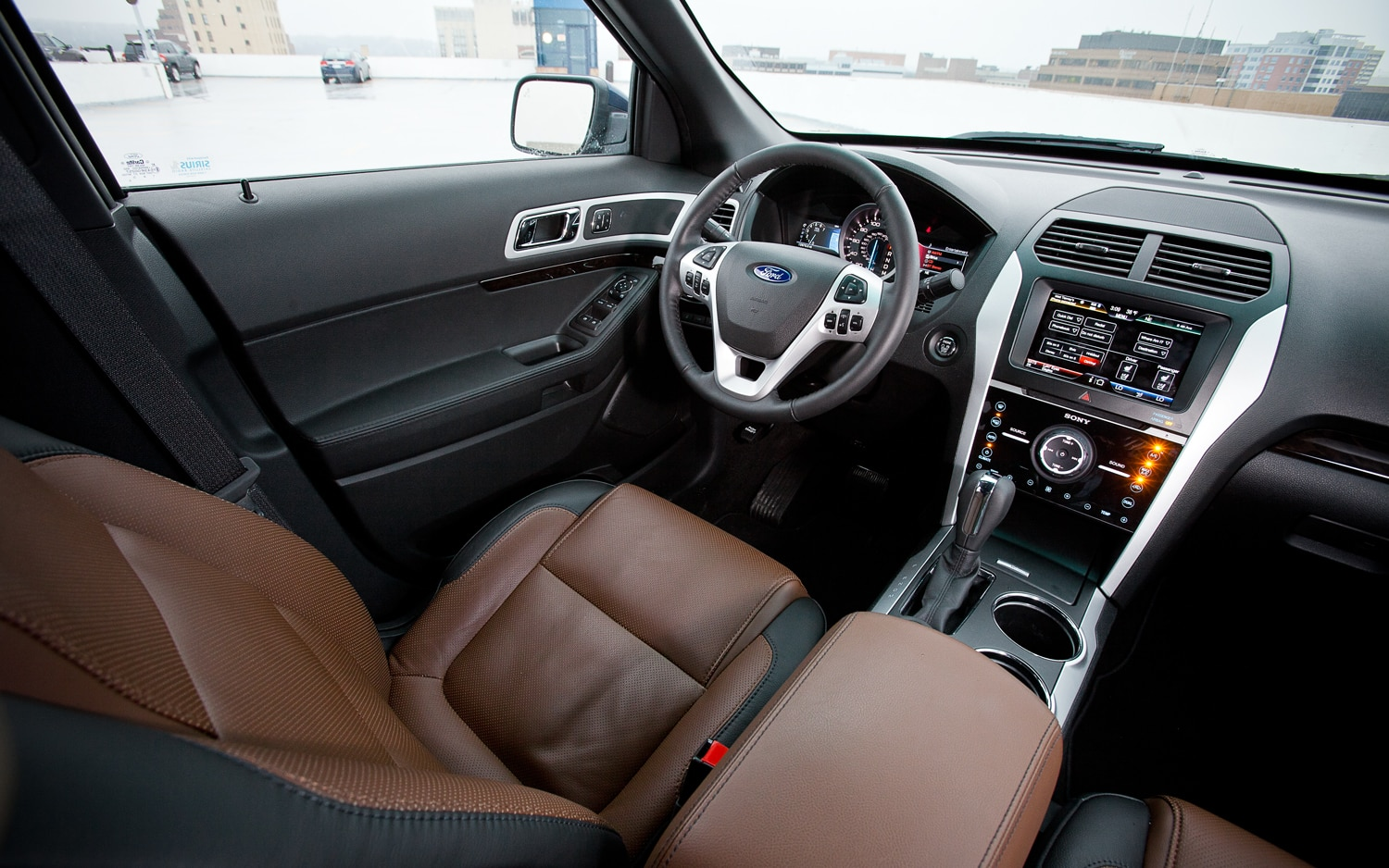 2012 ford explorer interior images galleries with a bite. Black Bedroom Furniture Sets. Home Design Ideas