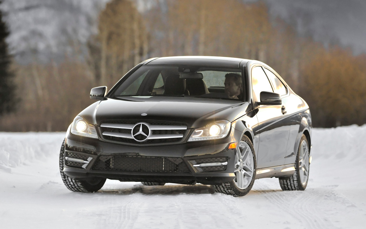 2012 Mercedes Benz C350 Coupe 4matic