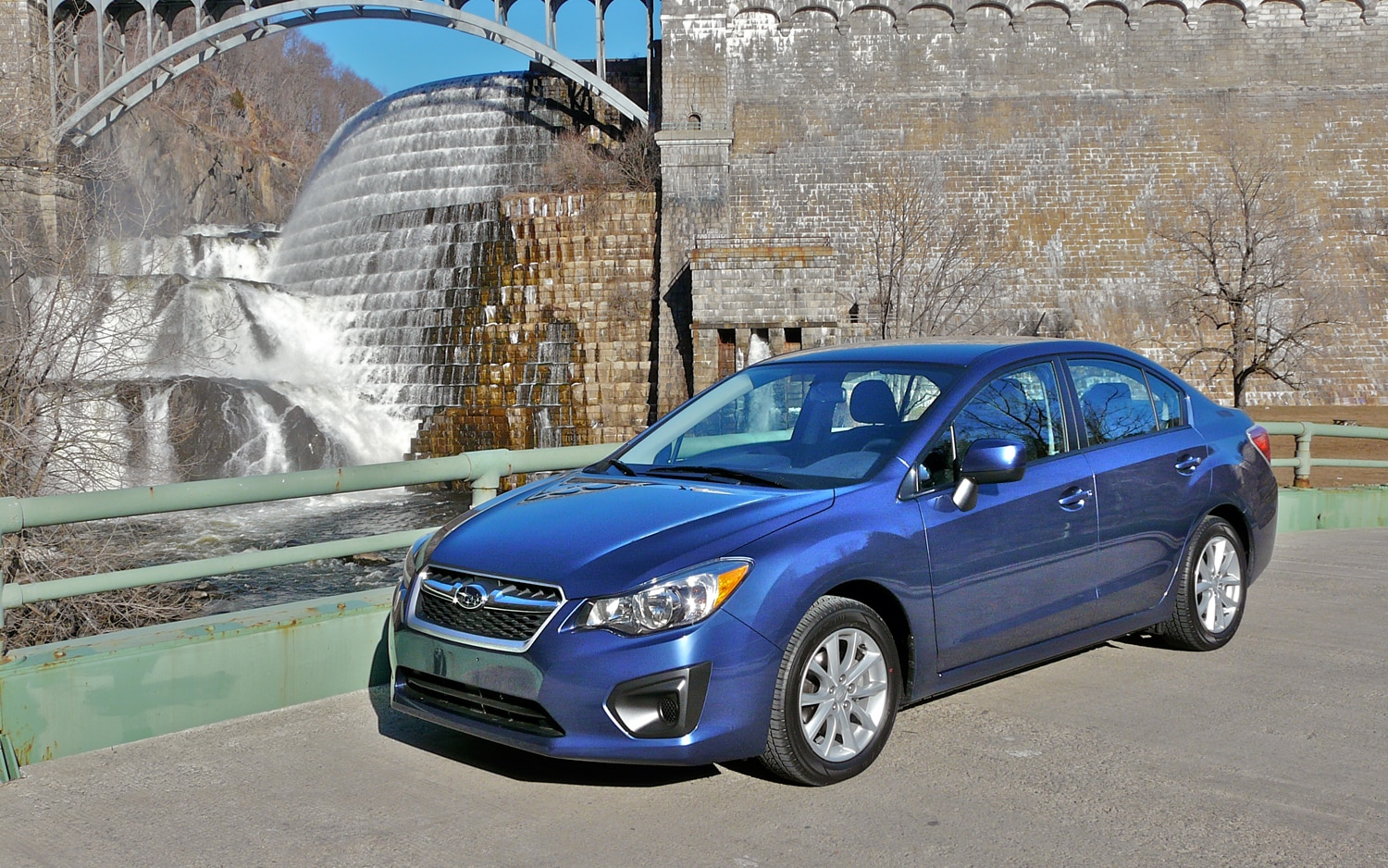 2012 Subaru Impreza Front Left Side View1