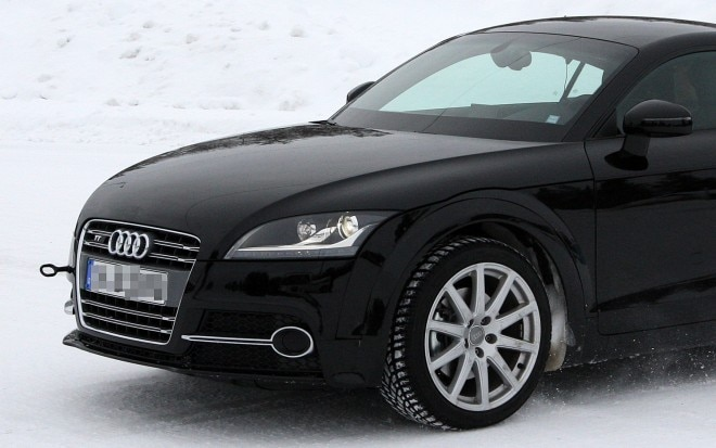 2013 Audi TT Test Mule Front Three Quarter 01 Crop 660x413