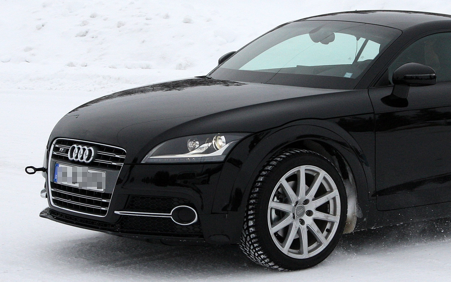 2013 Audi TT Test Mule Front Three Quarter 01 Crop