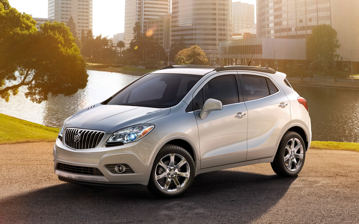 2013 Buick Encore Front Three Quarter1