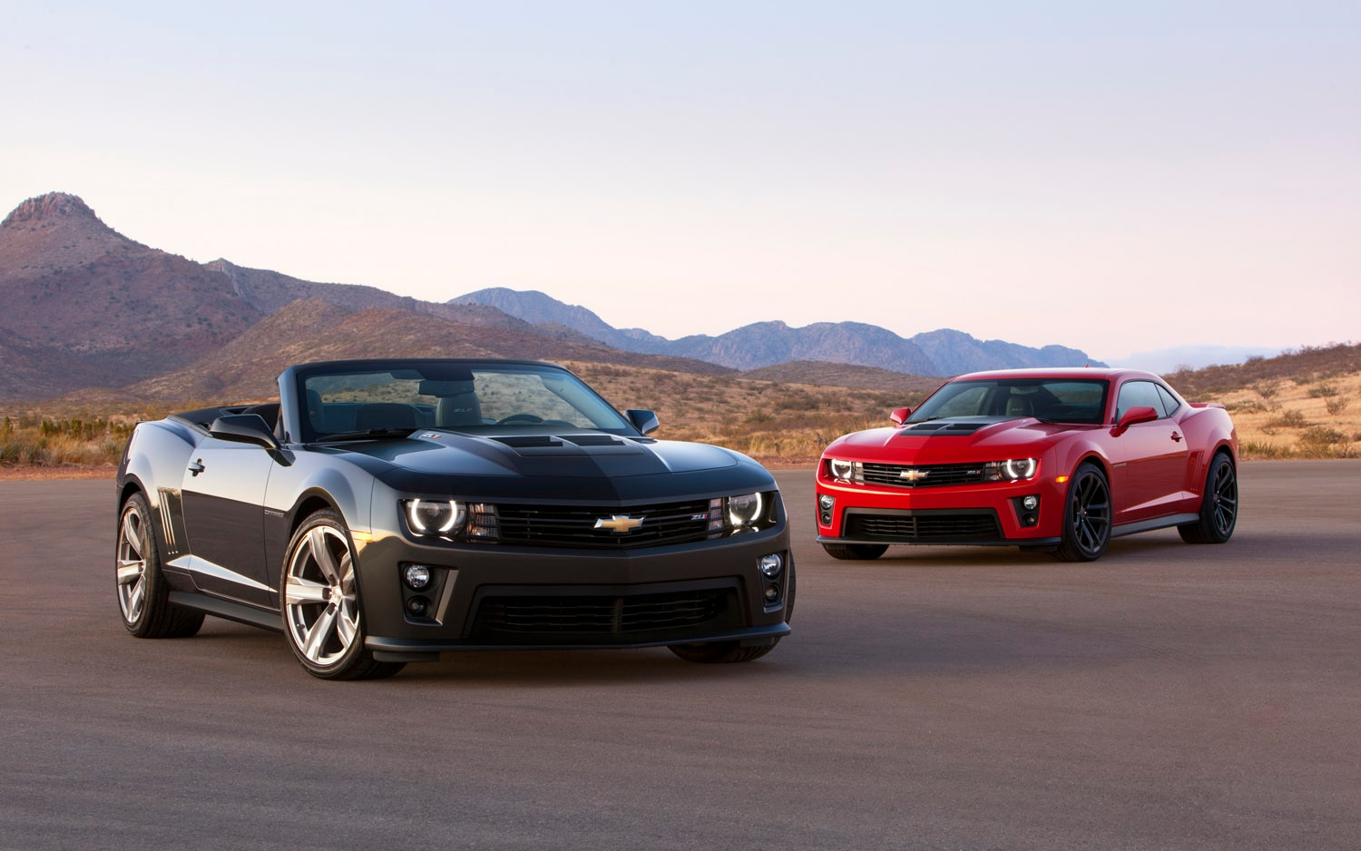 2013 Chevrolet Camaro ZL1 Coupe And Convertible1
