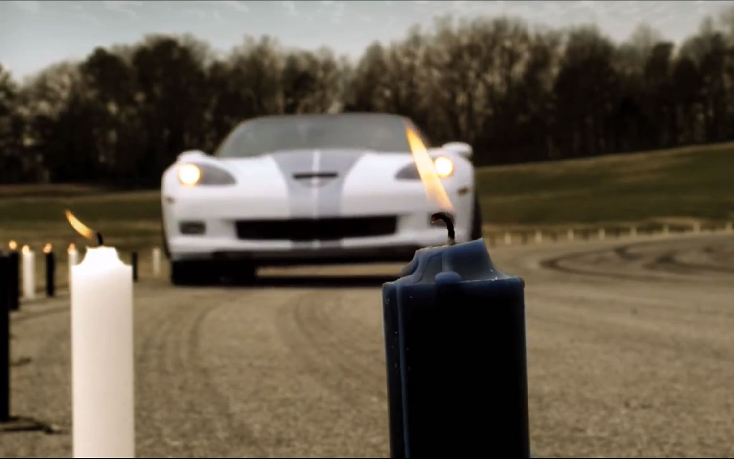 2013 Chevrolet Corvette 427 Convertible 60th Anniversary Candles Video 31