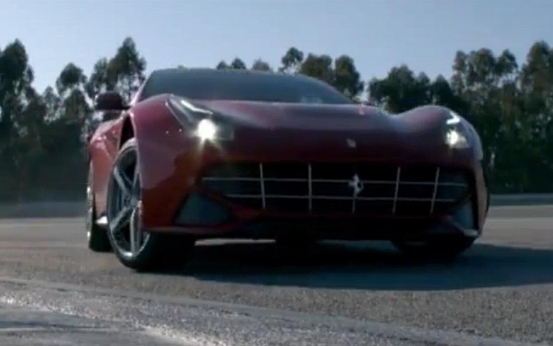 2013 Ferrari F12 Berlinetta Drifting Front Three Quarter1