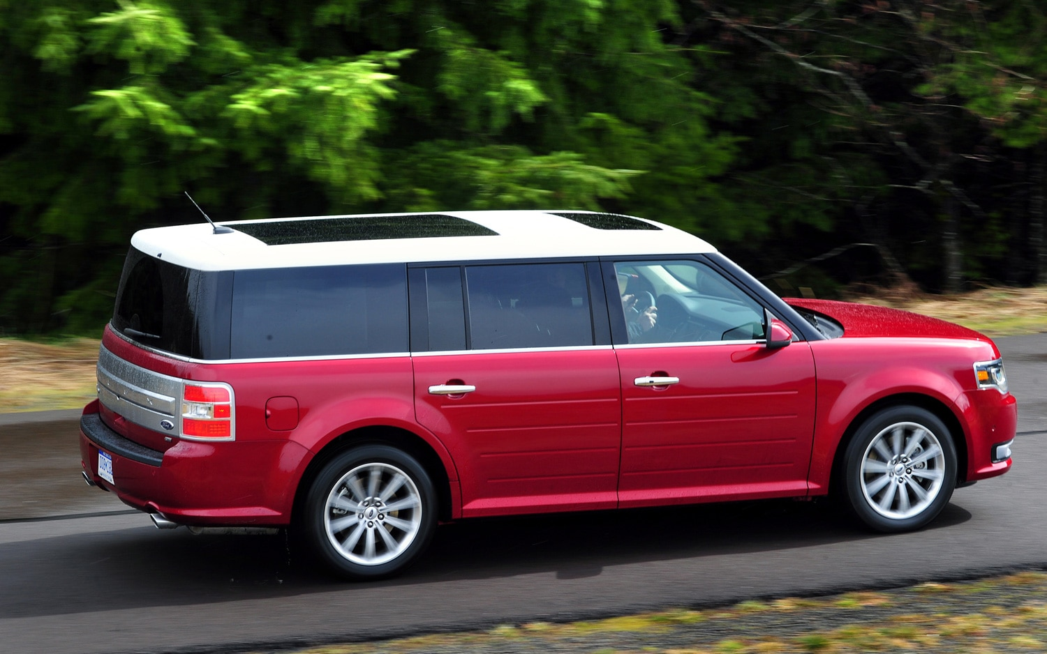2011 Ford Flex Red 200 Interior And Exterior Images
