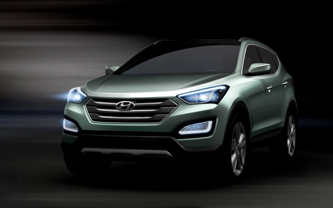 2013 Hyundai Santa Fe Front Three Quarter3 660x413