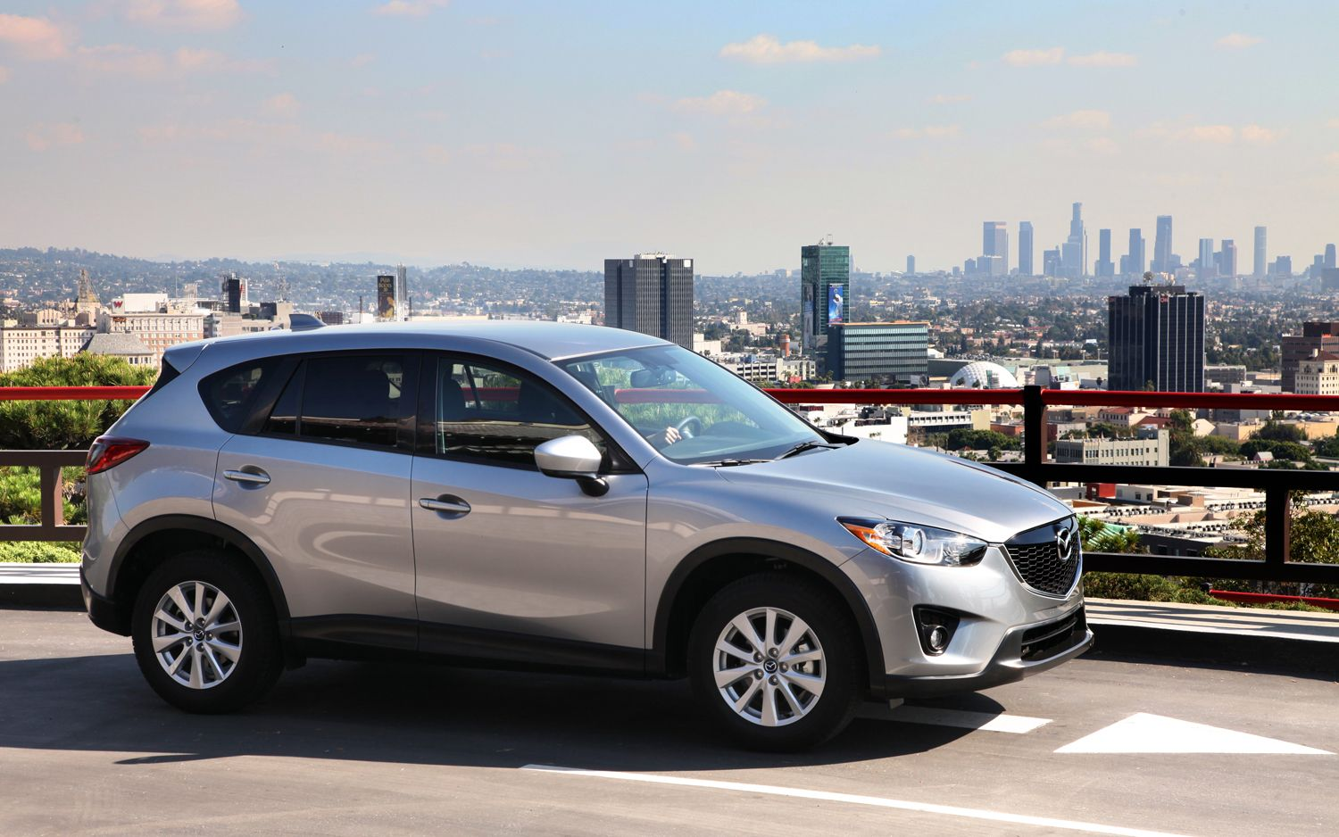 2013 Mazda CX 5 In View Of Downtown Los Angeles1