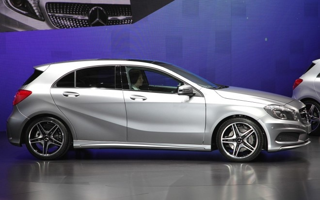 2013 Mercedes Benz A Class Side2 660x413