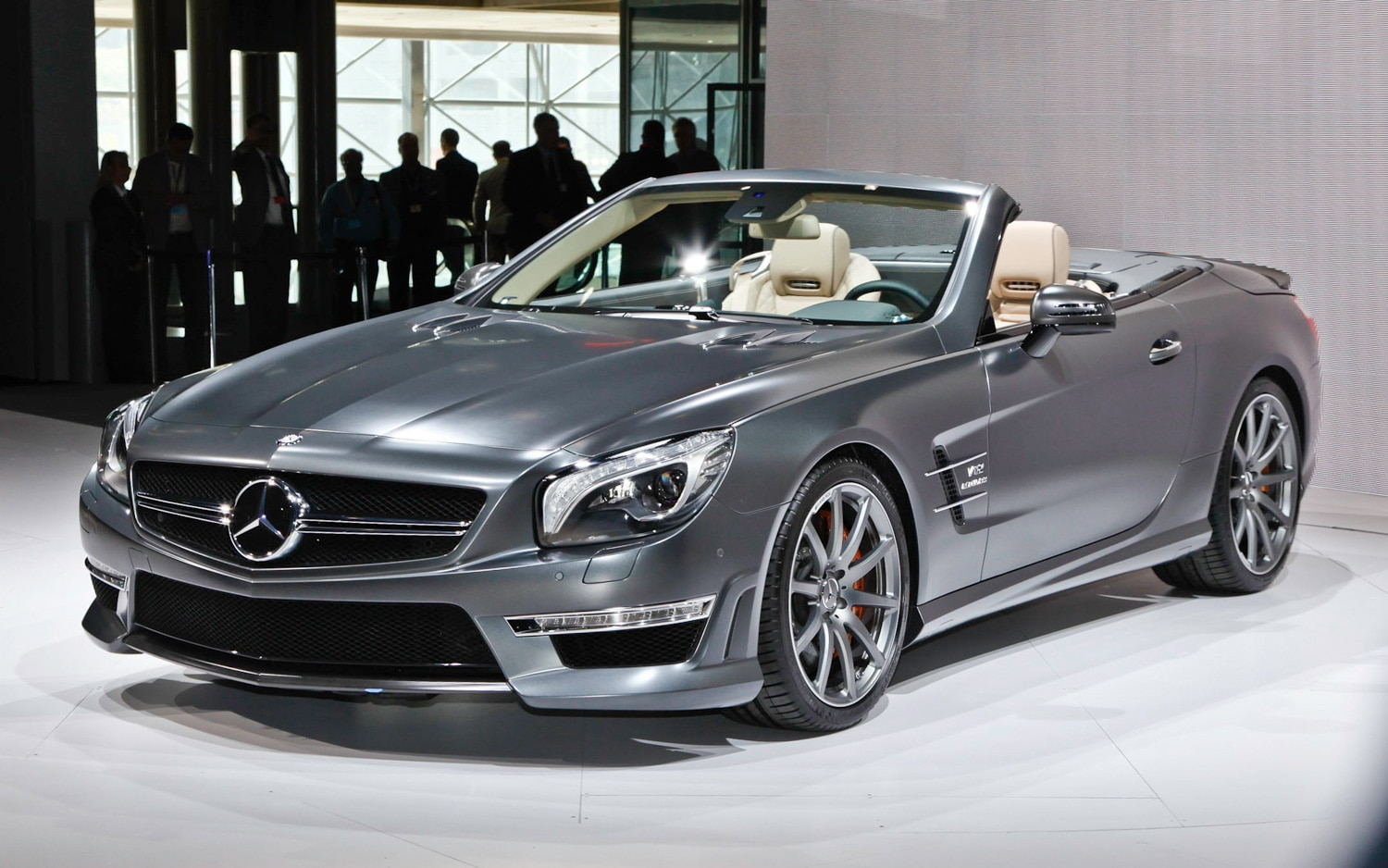 2013 Mercedes Benz SL65 Front Three Quarter