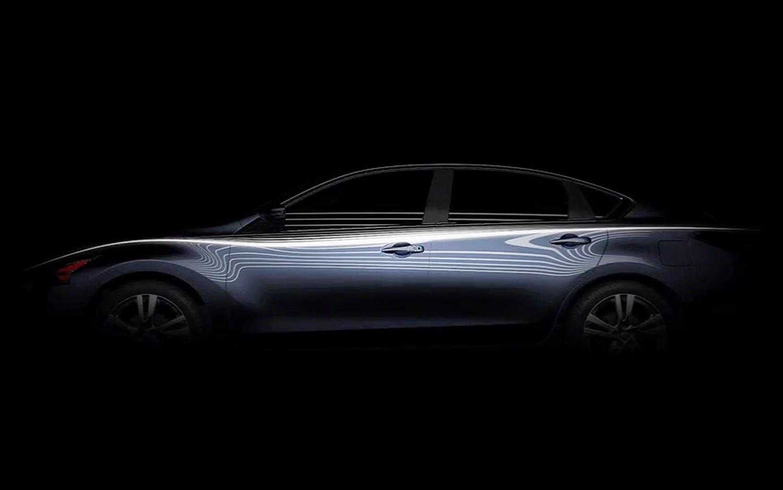 2013 Nissan Altima Profile Teaser1