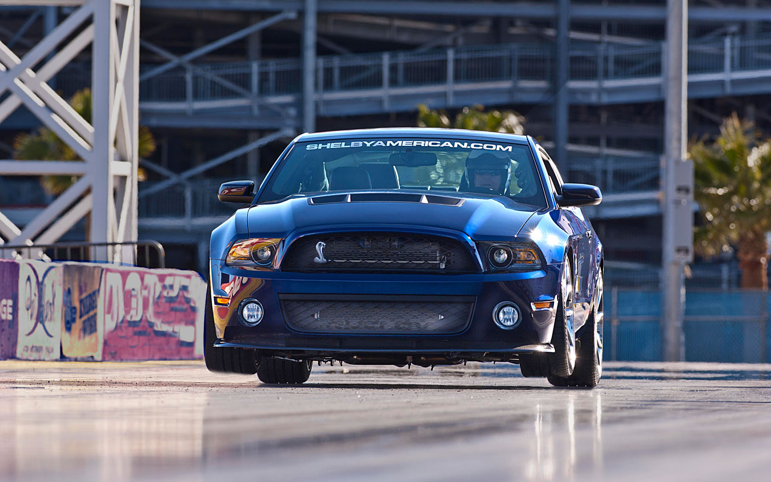 2013 Shelby 1000 Drag Strip Fake Wheel Lift1