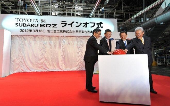 2013 Subaru BRZ Toyota 86 Production Ceremony 31 660x413