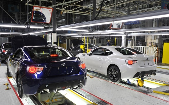 2013 Subaru BRZ Toyota 86 Production Line11 660x413