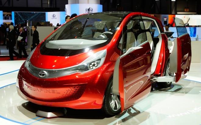2013 Tata Megapixel Concept Front Three Quarter Doors1 660x413