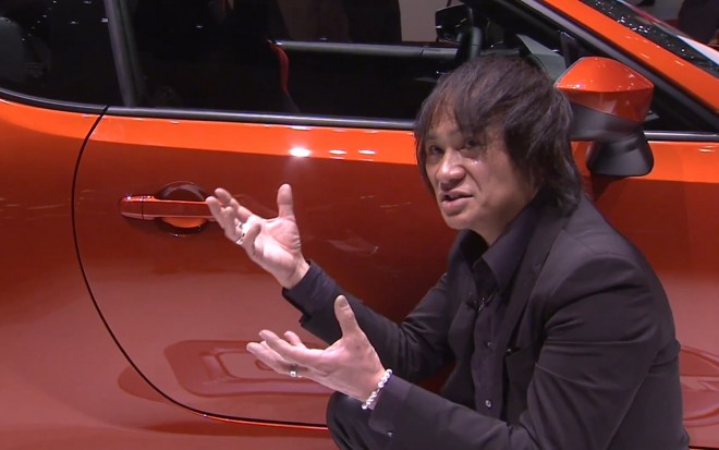 2013 Toyota GT86 With Designer Akihiro Nagaya1 660x413