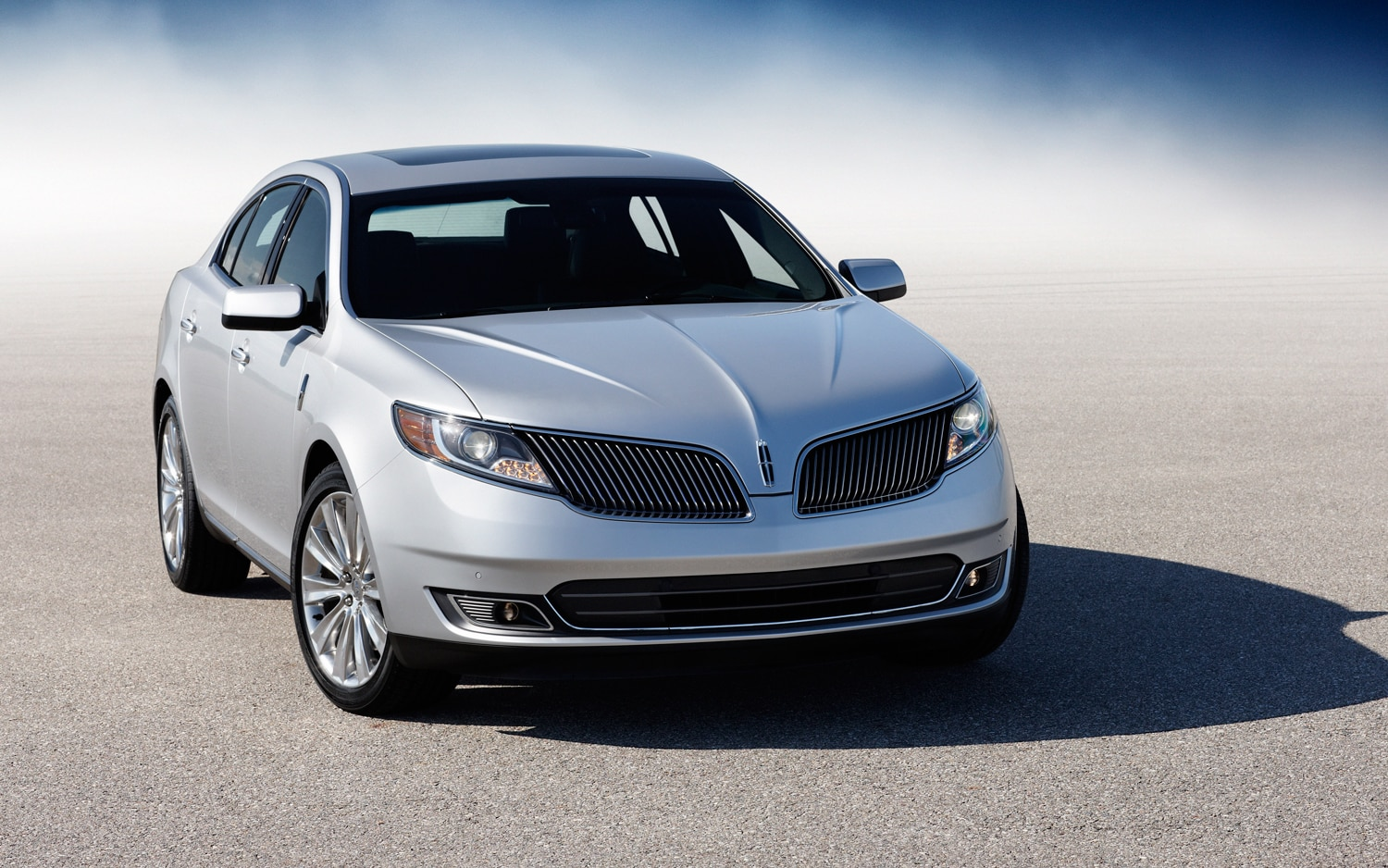 2013 lincoln MKS EcoBoost front right view first drive 2013 lincoln mks ecoboost automobile magazine  at n-0.co