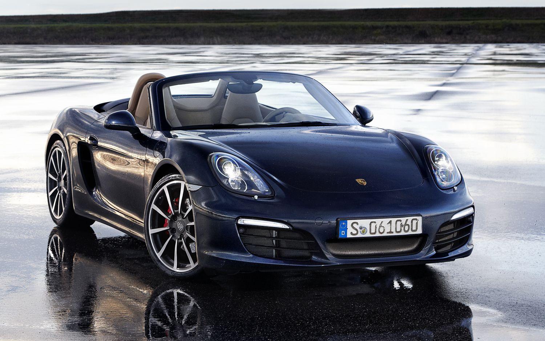 2013 Porsche Boxter Front Right View1