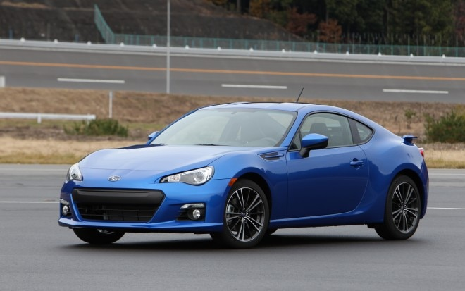 2013 Subaru BRZ Front Left Side View1 660x413