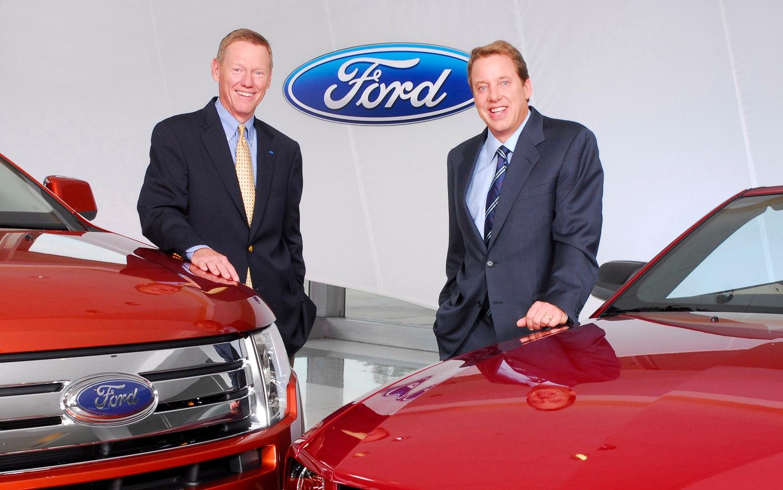 Alan Mulally And Bill Ford1