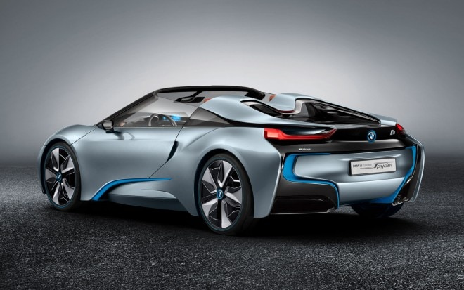 BMW I8 Spyder Concept Left Rear View1 660x413