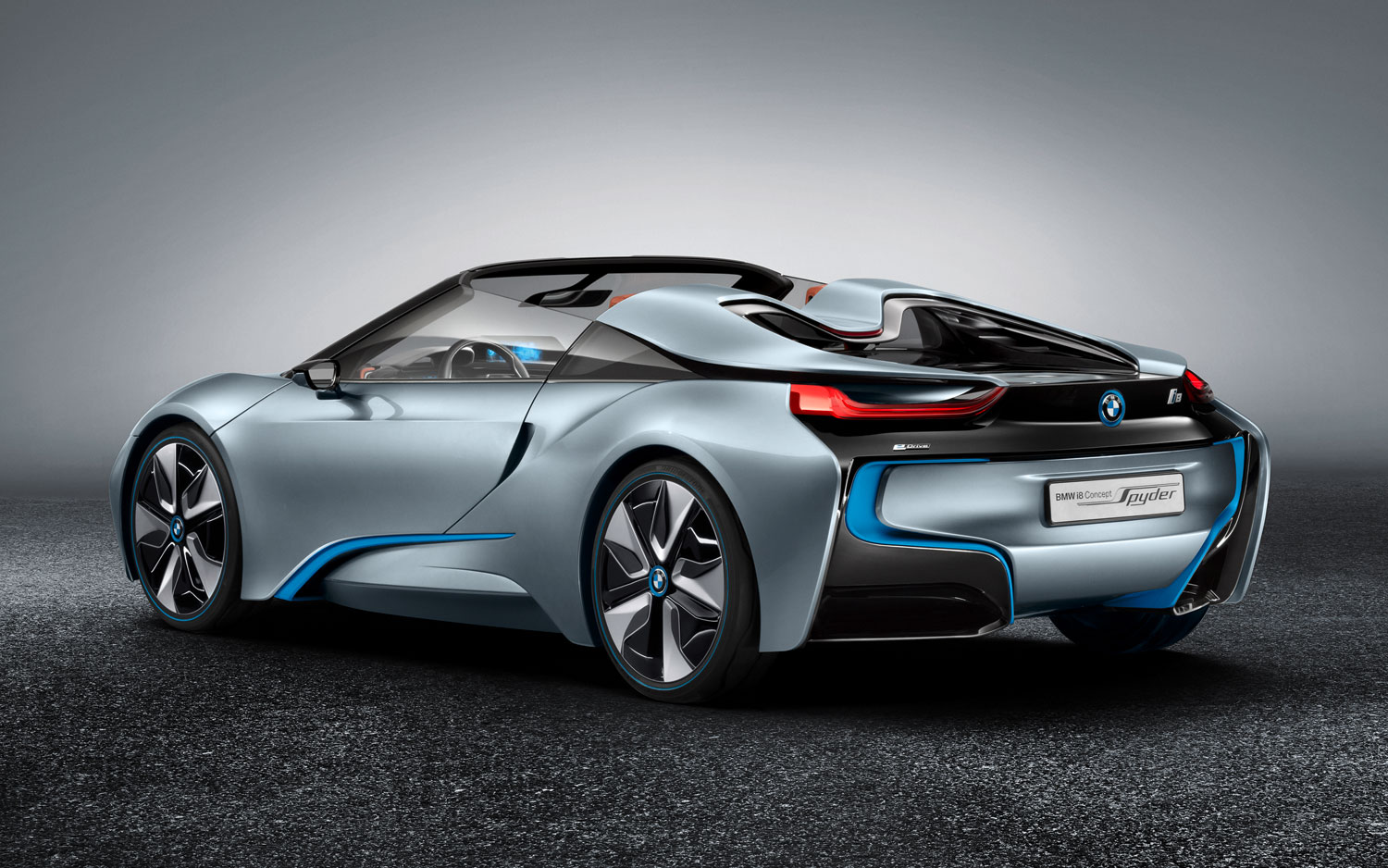 BMW I8 Spyder Concept Left Rear View1