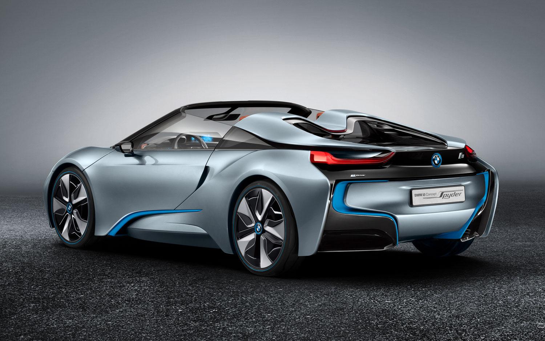 BMW I8 Spyder Concept Left Rear View1