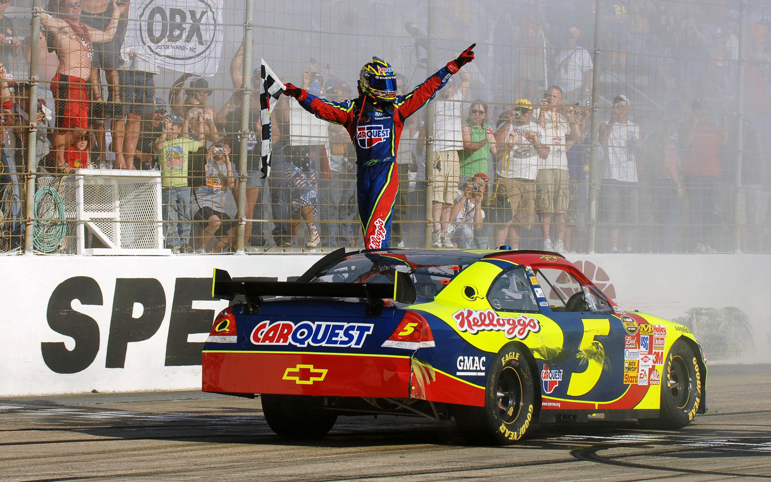 Chevy Impala Racecar After Win1