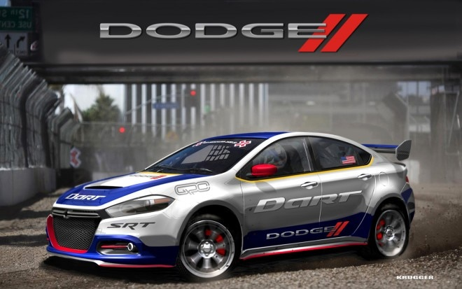 Dodge Dart Rally Car 660x413