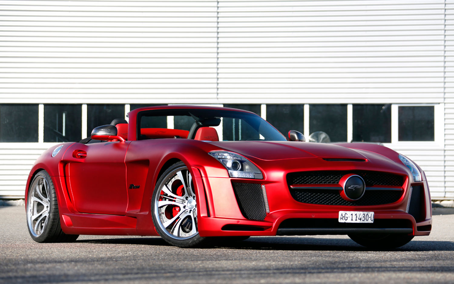 FAB Design Mercedes Benz SLS AMG Roadster Front Three Quarter1