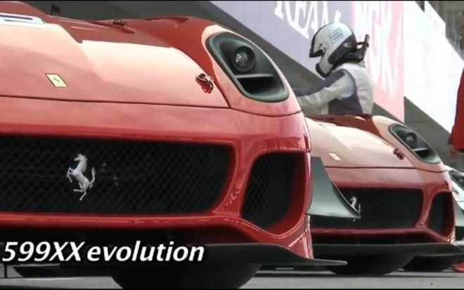 Ferrari 599XX Evolution Video 11 660x413