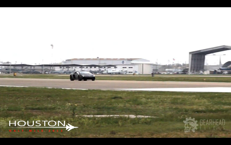 Hennessey Lamborghini Aventador Houston Half Mile 41