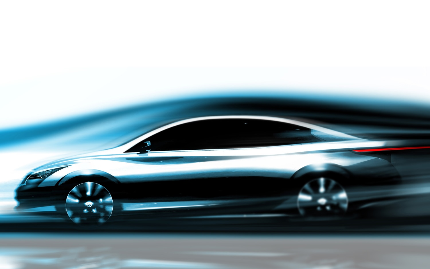 Infiniti Electric Car Concept Sketch