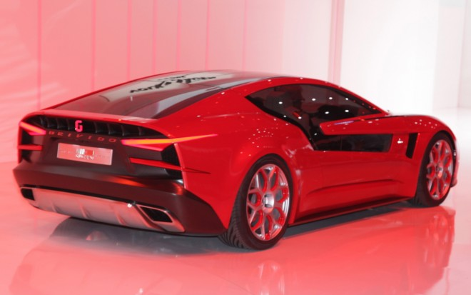 Italdesign Giugiaro Brivido Concept Rear Three Quarter1 660x413
