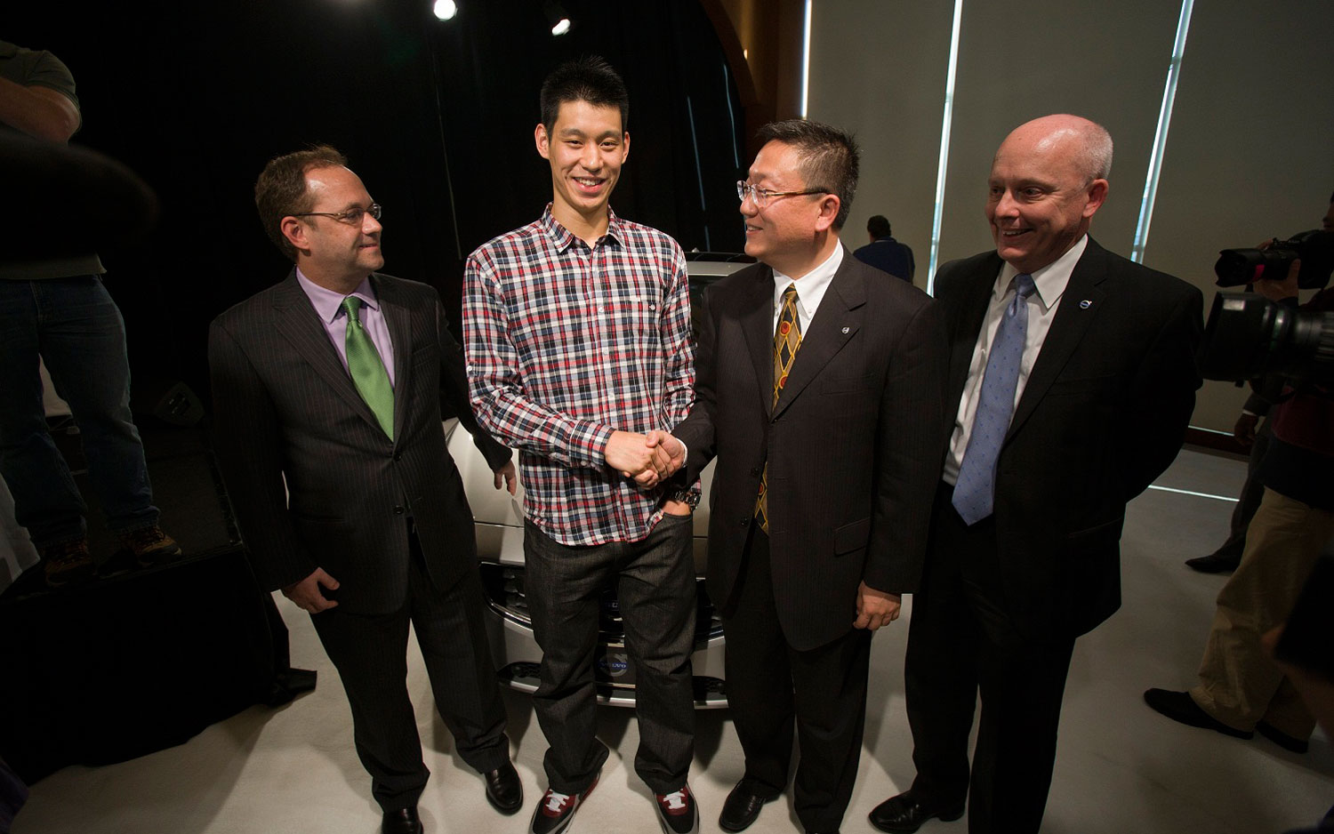 Jeremy Lin New Volvo Spokesperson 21