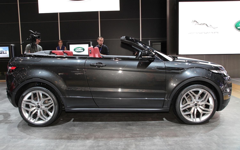 Land Rover Range Rover Evoque Convertible Side1