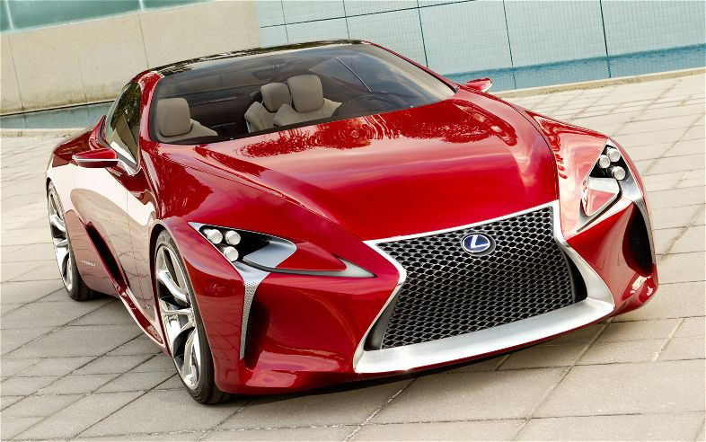 Lexus LF LC Concept Front End1
