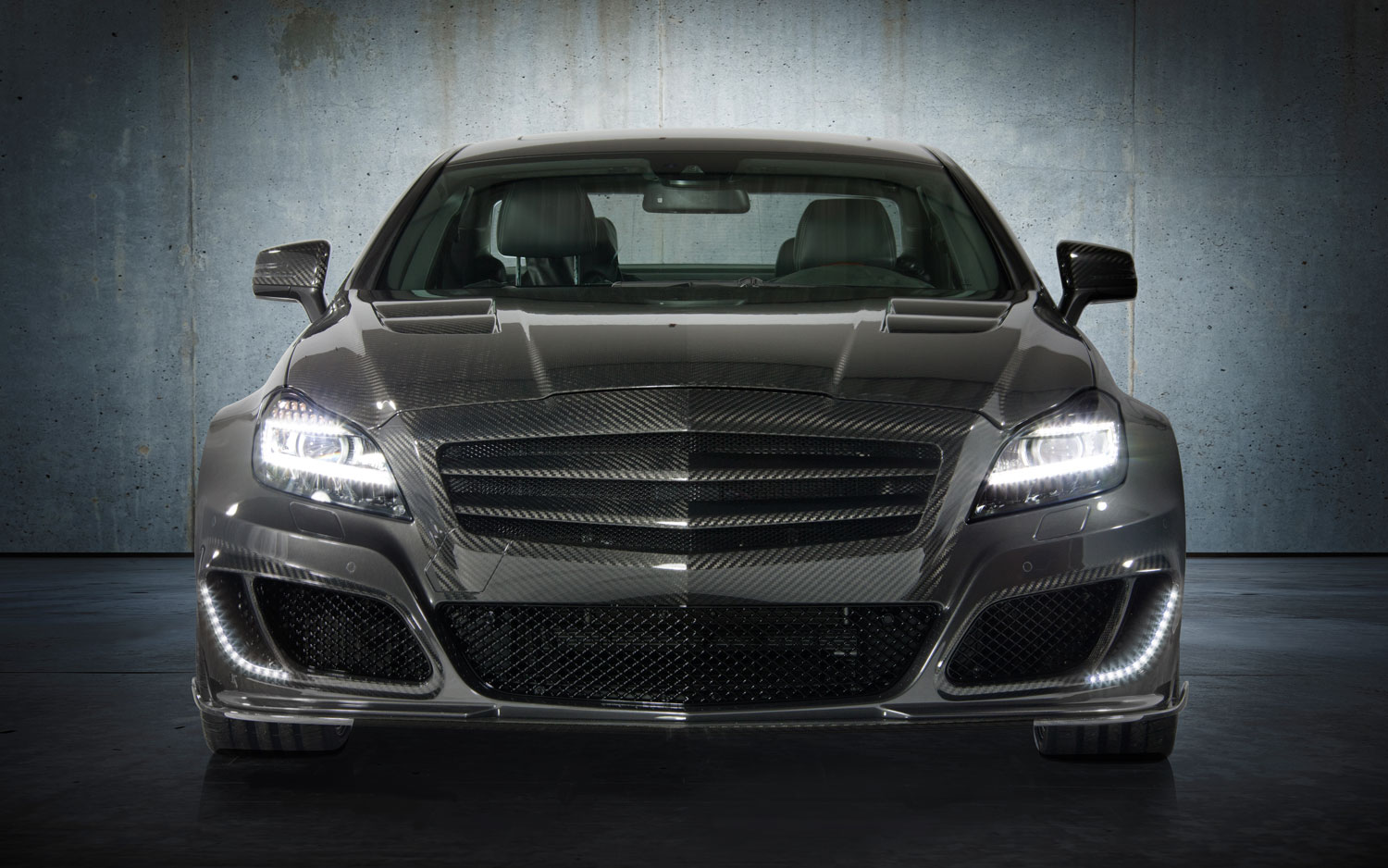 Mansory Mercedes Benz CLS63 AMG Front1