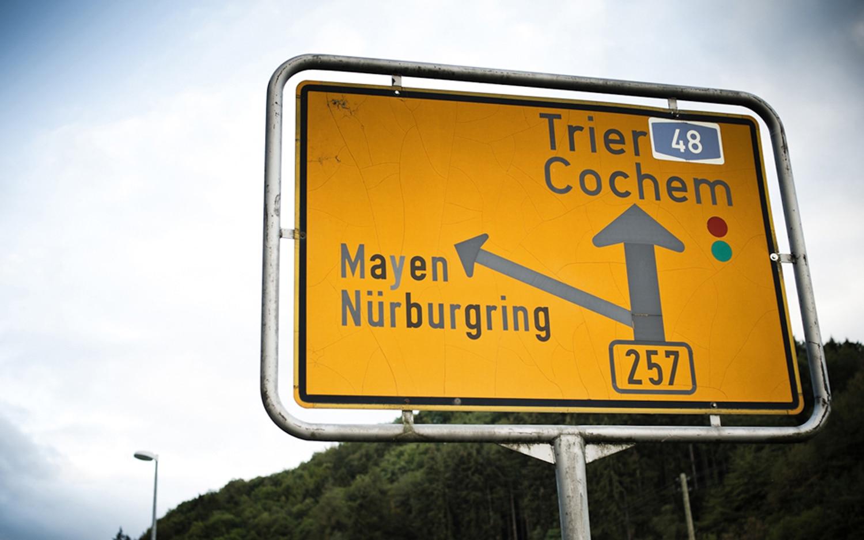 Nurburgring Sign