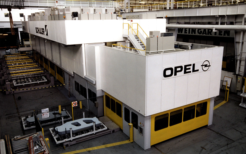 Opel Russelheims Plant