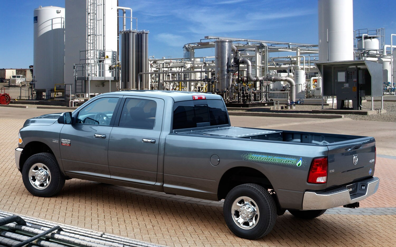 Ram Announces CNG Pickup, Extended-Cab Tradesman Models