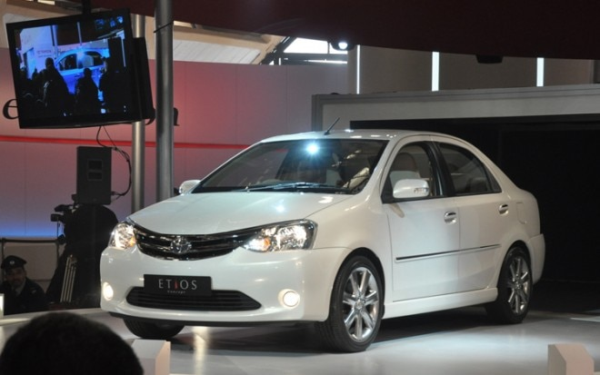 Toyota Etios Front Three Quarter