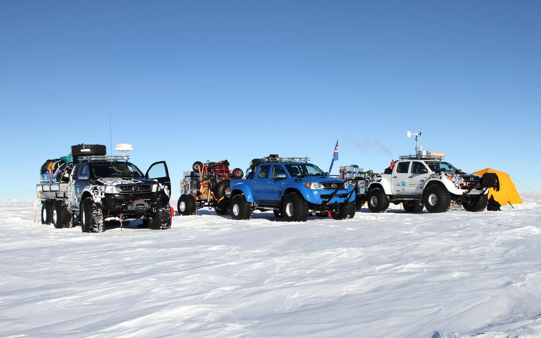 Toyota Hilux Antarctica Team Of Three1