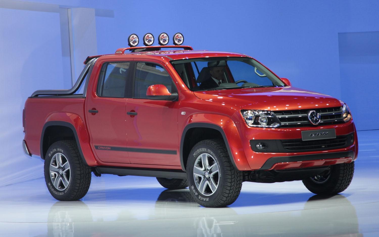 Volkswagen Amarok Canyon Concept Front Three Quarter1