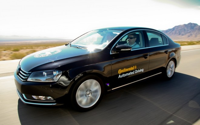 Volkswagen Passat Continental Automated Driving Car In Motion1 660x413